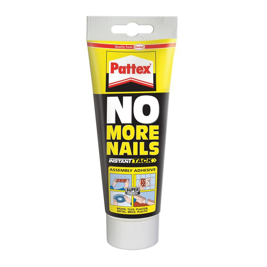 Contact Glue : Henkel - Pattex No More Nails Tube Carded